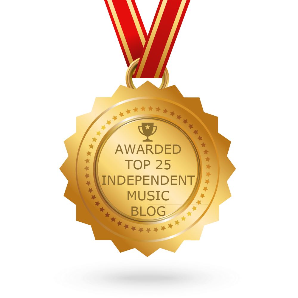 Awarded Number 13 on Feedspot.com's Top 25 Independent Music Blogs