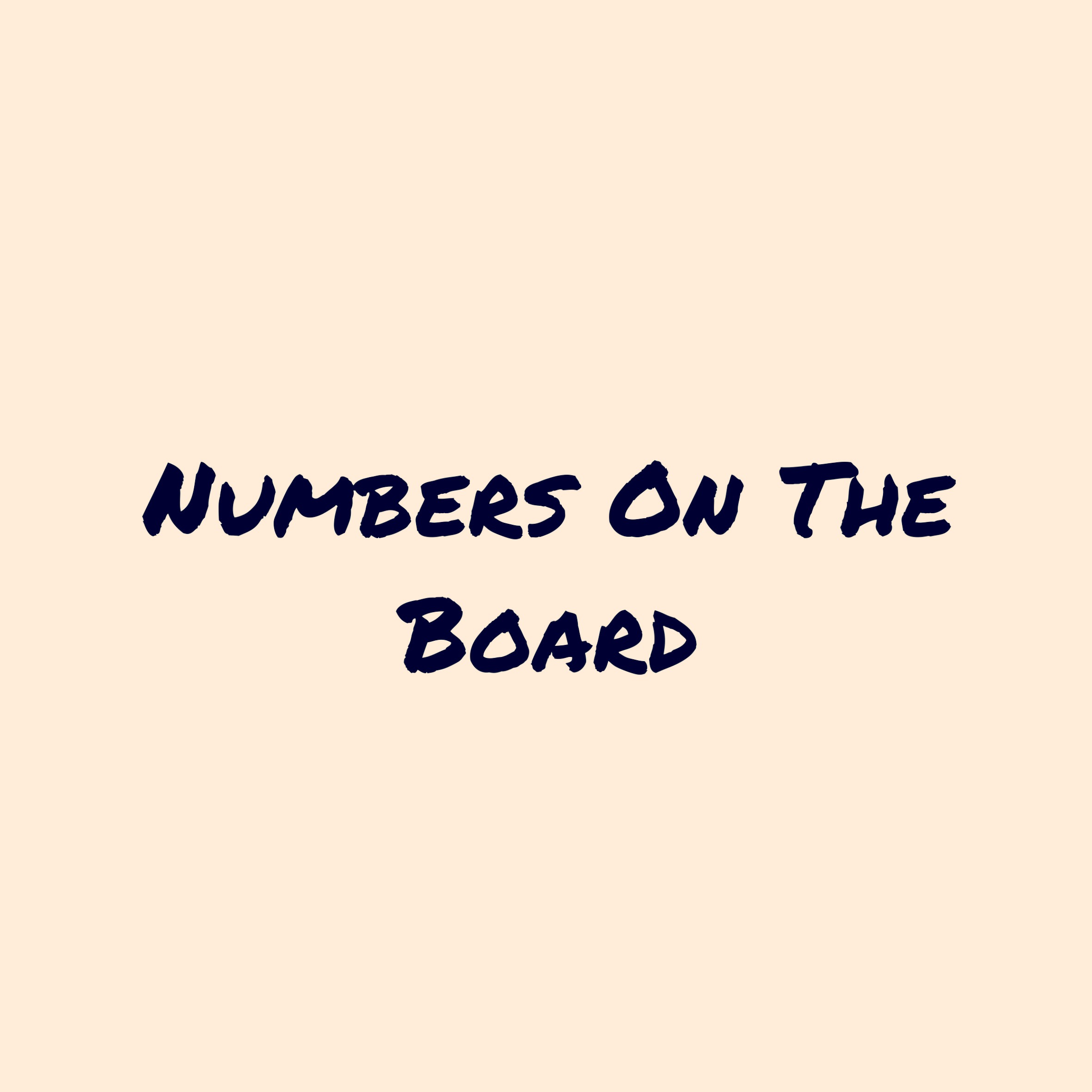 Numbers on The Board March: Cvon Parchman, Logarhythm, King Ibis, and Neak
