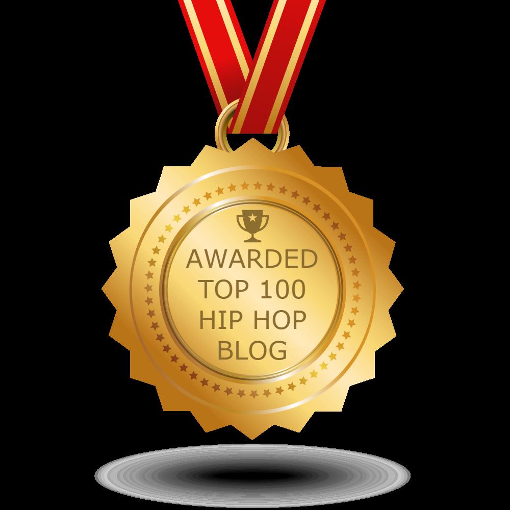 Awarded Number 42 on feedspot.com's Top 100 Hip Hop Blog List