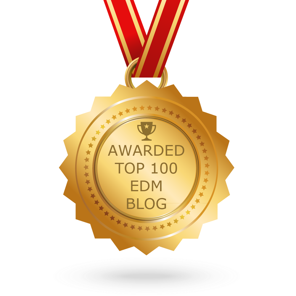 Awarded Number 56 on feedspot.com's Top 100 EDM Blogs List