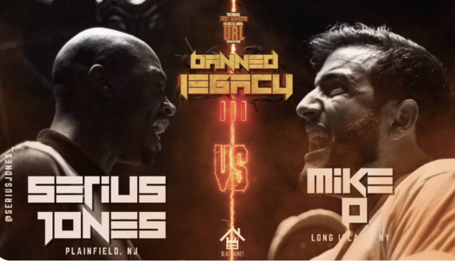 Serius Jones Vs Mike P Available now Exclusively on the URLTV App!