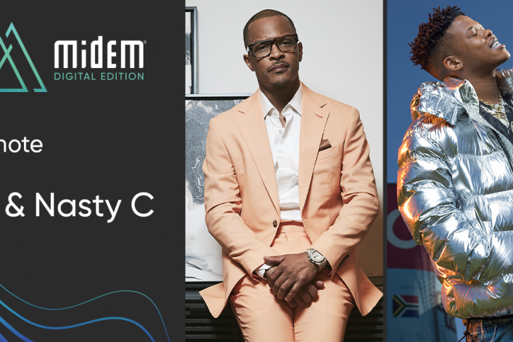 "Global Hip-Hop Icons TIP ""T.I."" Harris & Nasty C Feature in Exclusive Keynote ConversatIon at MIDEM Digital Edition"