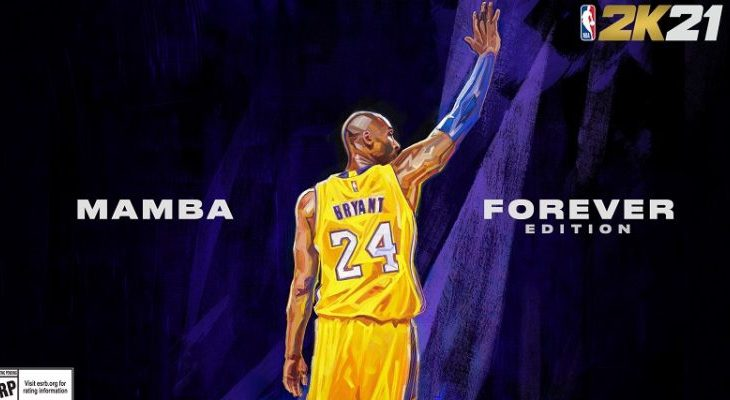"Kobe Bryant Covers NBA2K21 ""Forever Mamba Edition"""