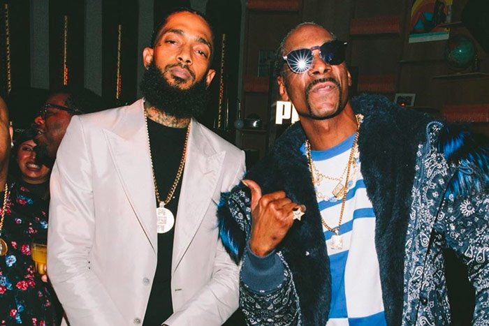 Snoop Dogg Releases 'Nipsey Blue' as a 35th Birthday Tribue to Nipsey Hussle