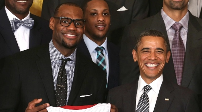 Obama Reportedly Counseled LeBron James and Chris Paul During The NBA Boycott