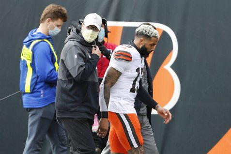 Cleveland Browns WR Odell Beckham Jr. says he has torn ACL, Out for Season