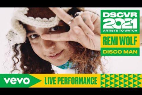Remi Wolf – Disco Man (Live) Vevo DSCVR Artists to Watch 2021
