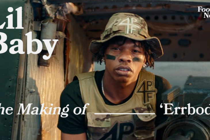 "LIL BABY REVEALSBEHIND THE SCENES OF ""ERRBODY""EXCLUSIVELY FOR VEVO FOOTNOTES"