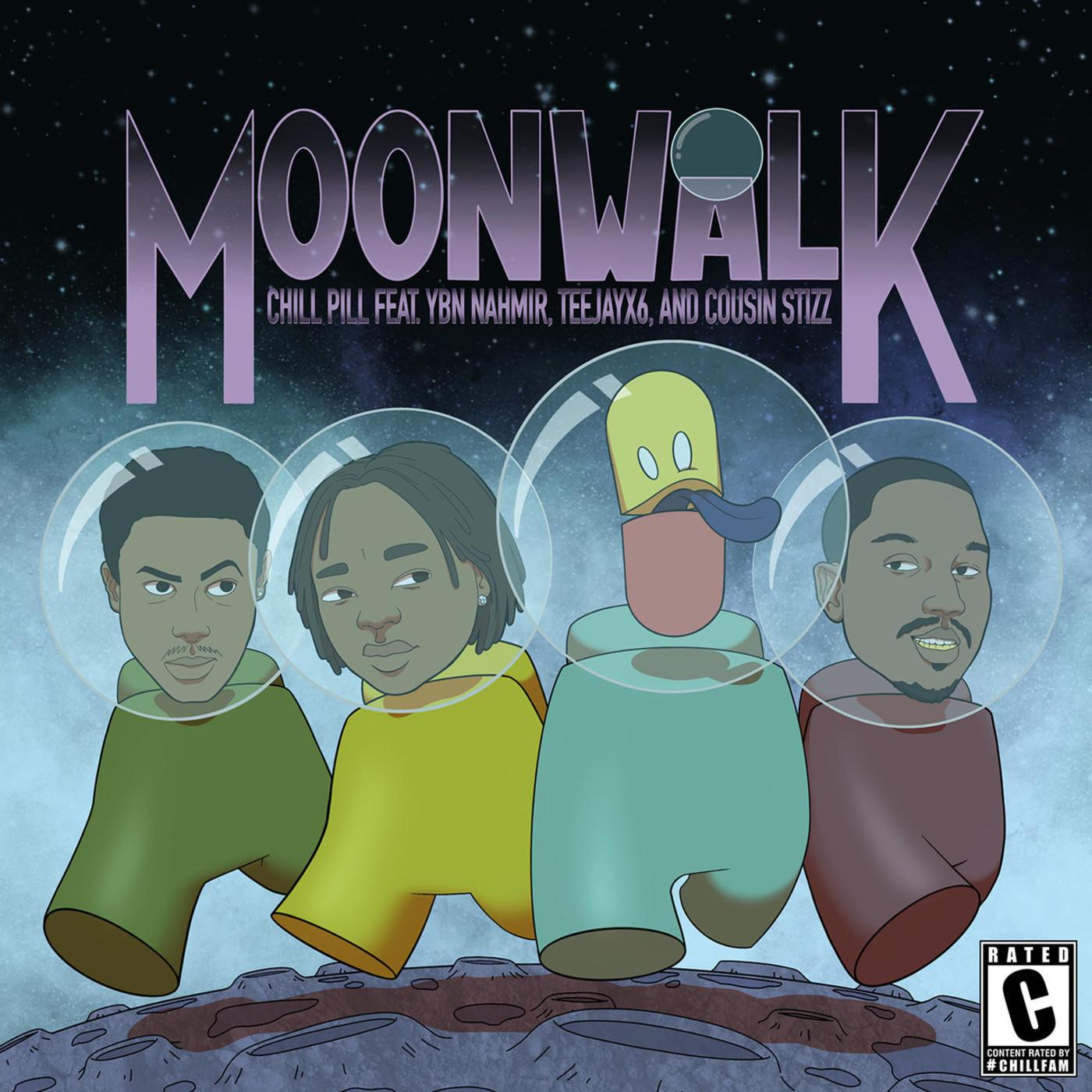 chillpill – Moonwalk (feat. YBN Nahmir, Teejayx6, & Cousin Stizz)